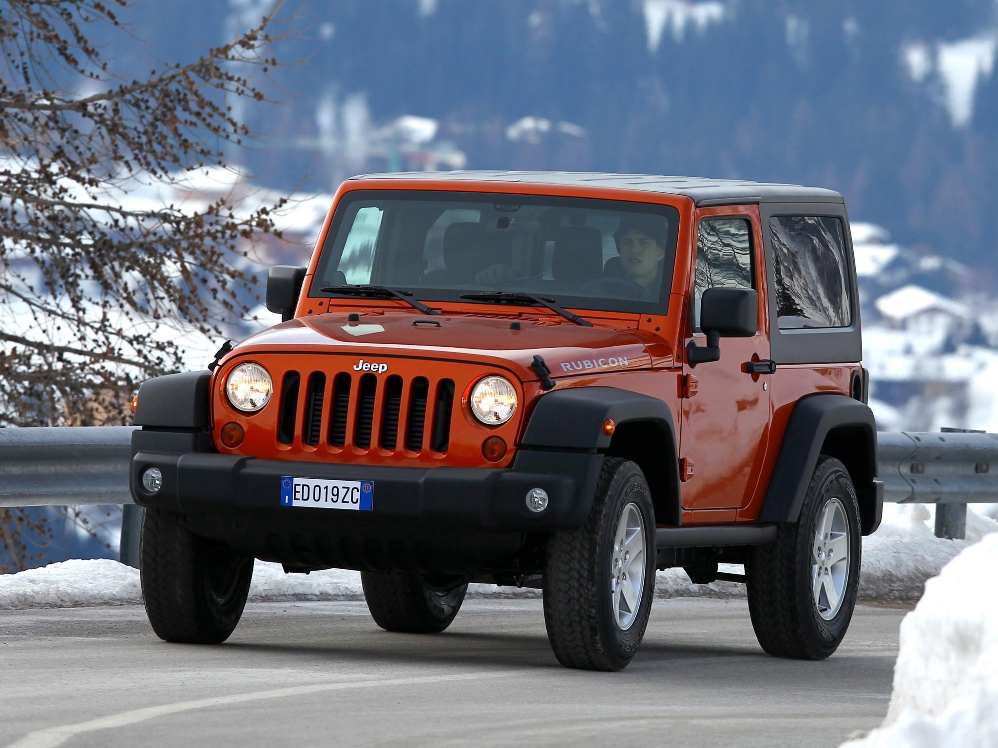 Jeep Wrangler Convertible 2-door (JK) 2.8 TD MT (200 HP ...