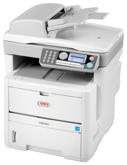 Oki Mb480 Impresora Multifunci 243 N Caracteristicas